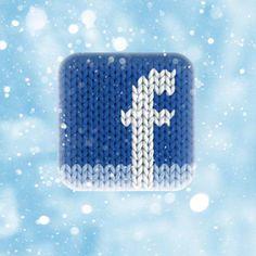 Facebook winter #ios #icon #design #inspiration #mobile #apps