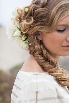 Gorgeous wedding braid