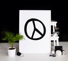 Peace Art Print from SOOuK soo-uk.com