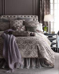 Fino Lino Linen & Lace Charleston Bedding & 350TC Charleston Sheets