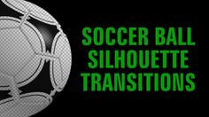 Soccer Ball Silhouette Transitions