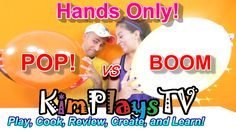 POP The Balloons With Bare HANDS CHALLENGE + GIANT Balloons are Extra Po...