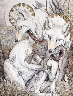 Stories of Death and Creation in Illustrations by Lauren Marx Art And Illustration, Inspiration Art, Art Inspo, Arte Obscura, Psy Art, Art Design, Magazine Art, Oeuvre D'art, Artist Art