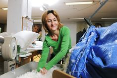 Duvets and pillows touch your skin for an average of seven hours a day. Uncompromising cleanliness is a decisive sales argument for this Swiss product. That is why Dauny has set itself the very highest targets in terms of hygiene. And the guidelines issued by our in-house laboratory are upheld rigorously. We also place great importance on the issue of disposal – all the by-products are biodegradable and are returned to nature. On The Issues, Sleep Well, Biodegradable Products, Duvet, Touch, Pillows, Coat, Nature, Life