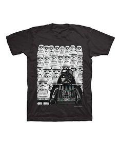 Loving this Black LEGO Star Wars Darth Vader Tee - Boys on #zulily! #zulilyfinds