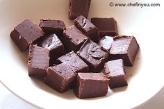 Easy Cinnamon Chocolate Fudge Recipe with Condensed Milk