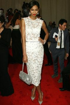 D & G and Chanel accessories - Chanel Iman/model