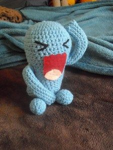 2000 Free Amigurumi Patterns: Free Wobbuffet Pokemon Amigurumi Patern