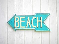 Beach... This way !