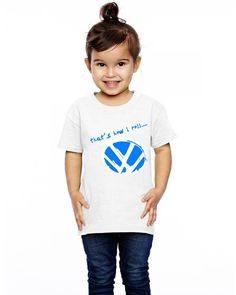vw-that's-how-roll Toddler T-shirt