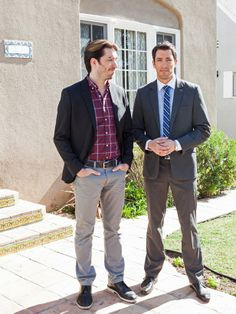 Now: Look of Adoration in The Scott Brothers: Then and Now from HGTV