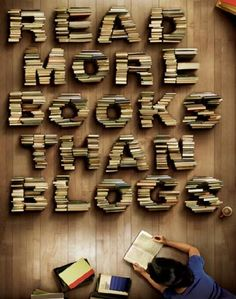 Read more books than blogs...