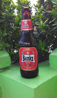 The bottle here (Barbados) is slightly different but it's Banks no matter where you go