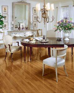 Bruce Hardwood Flooring: Oak - Butterscotch