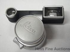 Vintage Leica Leitz Wetzlar M3 Summaron 35 MM Camera Lens w Mount #Leica