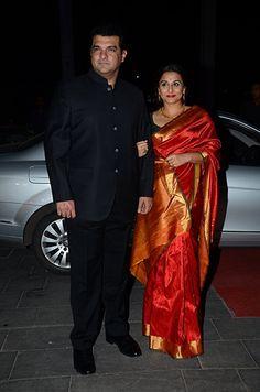 Vidya Balan Siddharth Roy Kapur At Farah Khans Birthday Bash In Mumbai