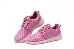 Womens Nike Roshe Run Metric QS Bright Cerise Pink Metallic Silv Nike Shoes For Sale, Nike Shoes Cheap, Nike Free Shoes, Nike Shoes Outlet, Running Shoes For Men, Cheap Nike, Nike Running, Roshe Run Shoes, Nike Roshe Run