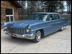 1960 Lincoln Premiere Sedan with its powerful 429 cubic inch displacement Engine.