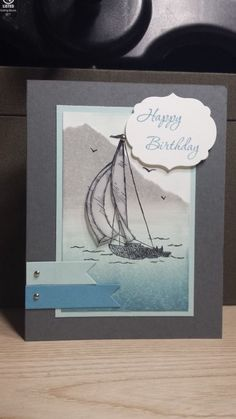 Sailing Away Birthday by zipperc98 - Cards and Paper Crafts at Splitcoaststampers
