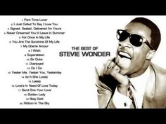Stevie Wonder Greatest Hits - YouTube