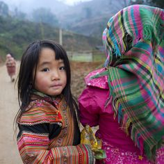 Young Flower Hmong Girls, Sapa, Vietnam by Eric Lafforgue on Flickr.