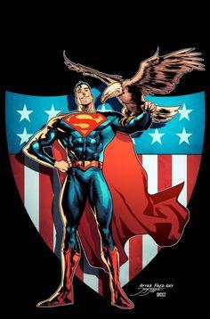Superman by Jorge Jiménez