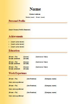 Freebie Resume  Cover Letter De Unique Graph  Cv Mkt