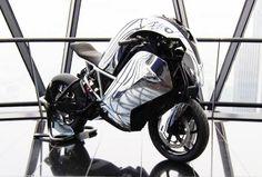 La primera moto deportiva eléctrica del mundo, Saietta R Estas fotografías son del prototipo de moto deportiva, realizado por la empresa Ag...