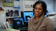 Aprille Ericsson, aerospace scientist at Goddard Space Flight Center--go read more about her at Gradient Lair.