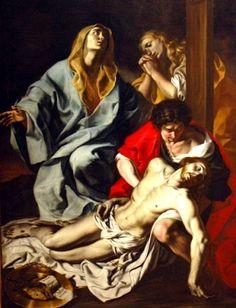 Angelo Solimena: Pietà.
