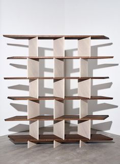A crack design squad tackles wish-list commissions at Benchmark Cool Furniture, Furniture Design, Wooden Hinges, Design Squad, Legacy Projects, Modular Shelving, London Design Festival, Moroccan Interiors, Bookcase Shelves