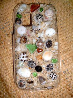 Hawaiian Sea Shell Galaxy S Cell Phone Case by AumoanaDesigns, $30.00