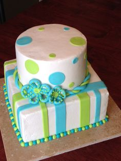 Teenager birthday cake