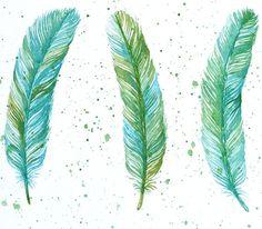 Bird of Watercolor Art Painting | visit etsy com