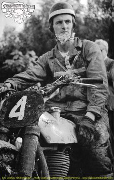 Eric Cheney Imola GP 1953 Gianni Perrone Image classicdirtbikerider 1