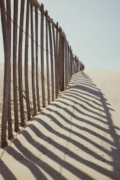 ~ Living a Beautiful Life ~ Sand Drift fencing. Destinations, Beyond The Sea, Beach Bum, Sand Beach, Light And Shadow, Summer Vibes, Amazing Art, Seaside, Summertime