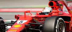 Spanish GP 2017, Sebastian Vettel, 0,051 seconds of Hamilton (2nd place in starting grid)