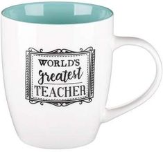 Christian Art Gifts Mug Worlds Greatest Teacher (Other)