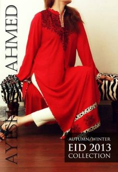Ayesha Ahmed Eid Ul Azha Autumn Winter Collection 2013 (3)