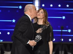 Pin for Later: 32 Potos des Critics' Choice Awards à Ne Pas Manquer Jeffrey Tambor et Carrie Brownstein