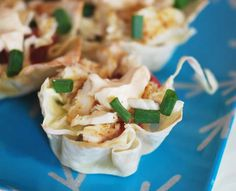 Fish Taco Cups... 2WW Pts+ a Taco!  This lady has fabulous recipes that are healthy!