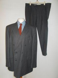 Vintage 80's mens suit by Daks Tailoring Jermyn Street