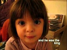 Capucine tells a story - YouTube (The cutest little Francophone ever!)