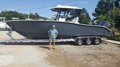 Congratulations to Grady on his new Cape Horn 31T! Peter Jordan and all of us at Sunrise Marine appreciate your business! Fish beware!!!