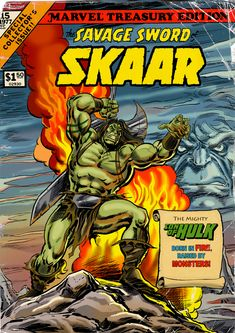 The Savage Sword Of SKAAR, Son Of Hulk! by Soulman-Inc.deviantart.com on @deviantART