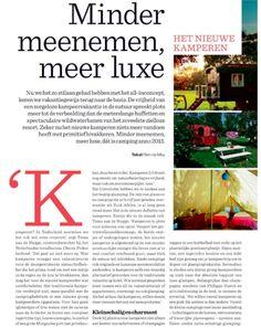 Tessa aan de Stegge in Het Nieuwsblad Magazine
