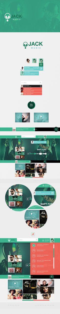 Music Jack / Web design