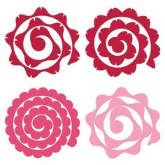 Excellent diy flowers hacks are offered on our web pages. Have a look and you wont be sorry you did. Rolled Paper Flowers, Felt Flowers, Diy Flowers, Fabric Flowers, Paper Roses, Flower Svg, Flower Template, Flower Crafts, Crown Template
