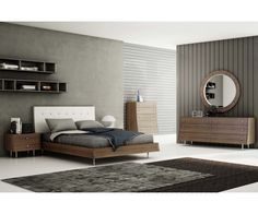 Concavo King Bed