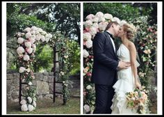 ​Hydrangeas - Wedding Arbors, Arches, Altars and More! - Flyboy Naturals, LLC